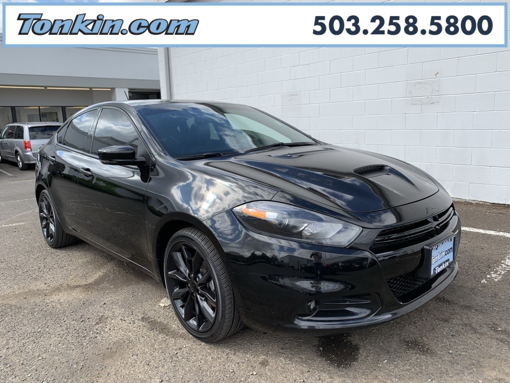 2016 Dodge Dart Gt >> Pre Owned 2016 Dodge Dart Gt Fwd 4d Sedan