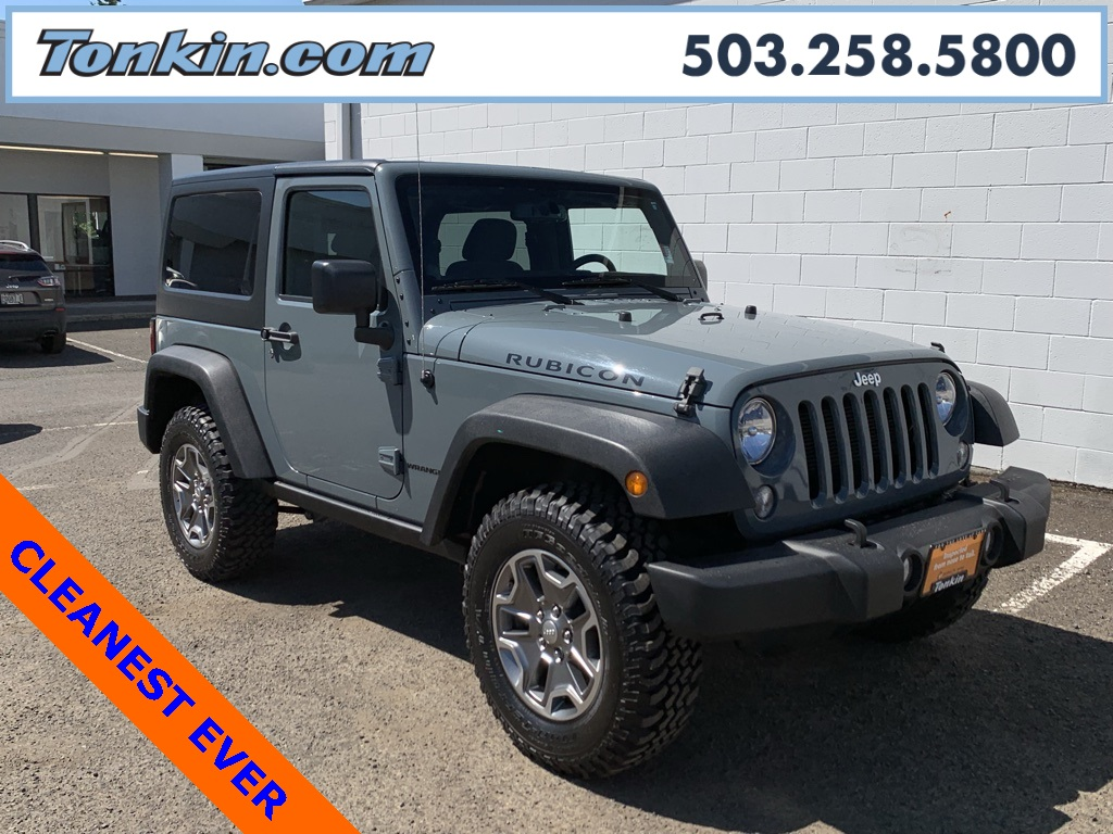 2014 Jeep Wrangler Rubicon >> Certified Pre Owned 2014 Jeep Wrangler Rubicon 2d Sport Utility In