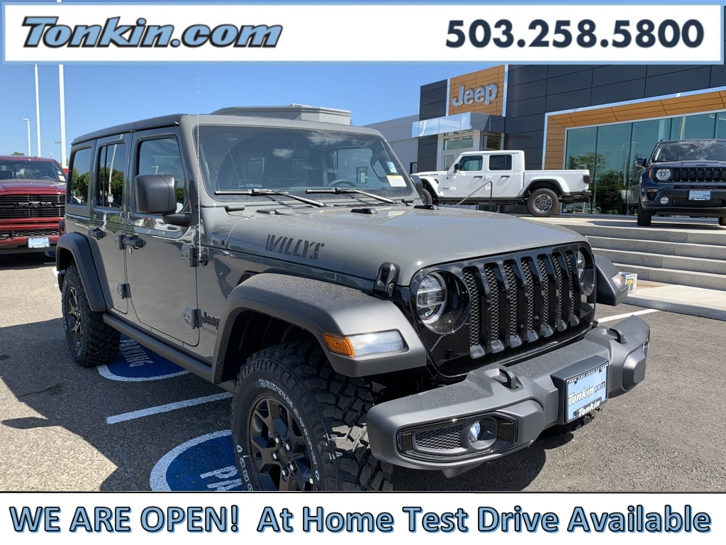 New 2020 Jeep Wrangler Unlimited Willys Sport Utility In Milwaukie D4320420 Ron Tonkin Chrysler Jeep Dodge Ram Fiat