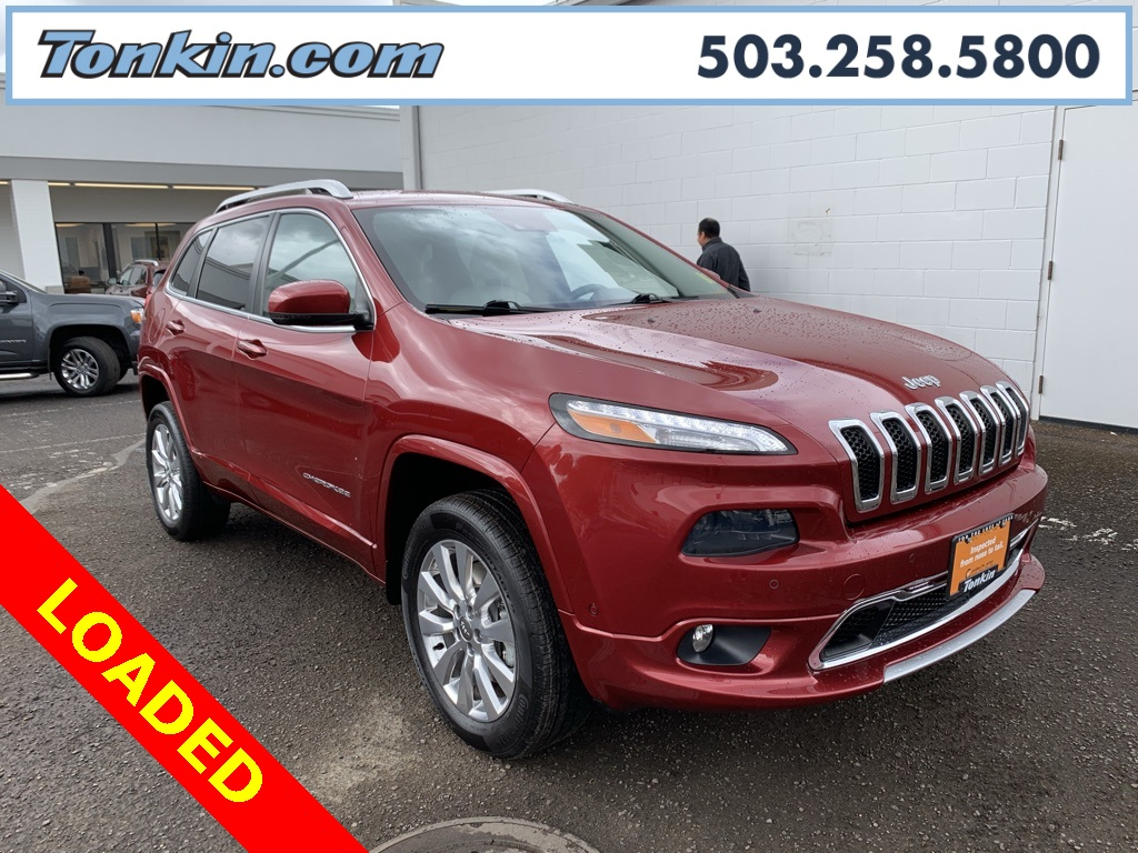 Jeep Certified Pre-Owned >> Certified Pre Owned 2016 Jeep Cherokee Overland 4d Sport Utility In