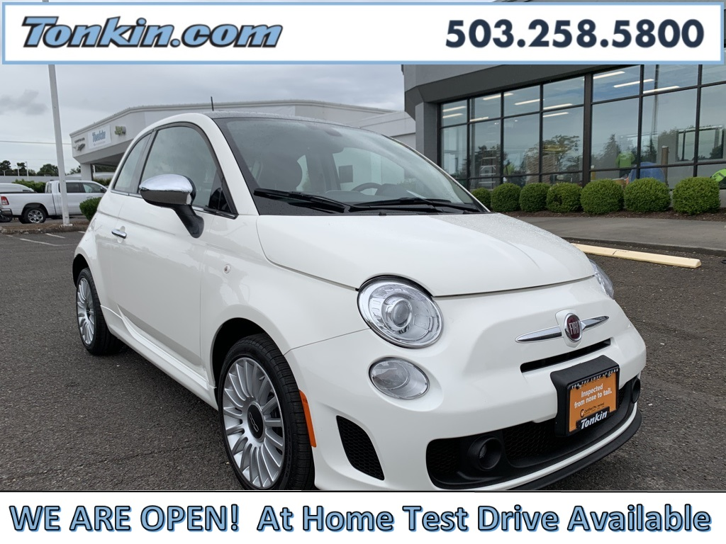 Certified Pre-Owned 2018 FIAT 500 Lounge