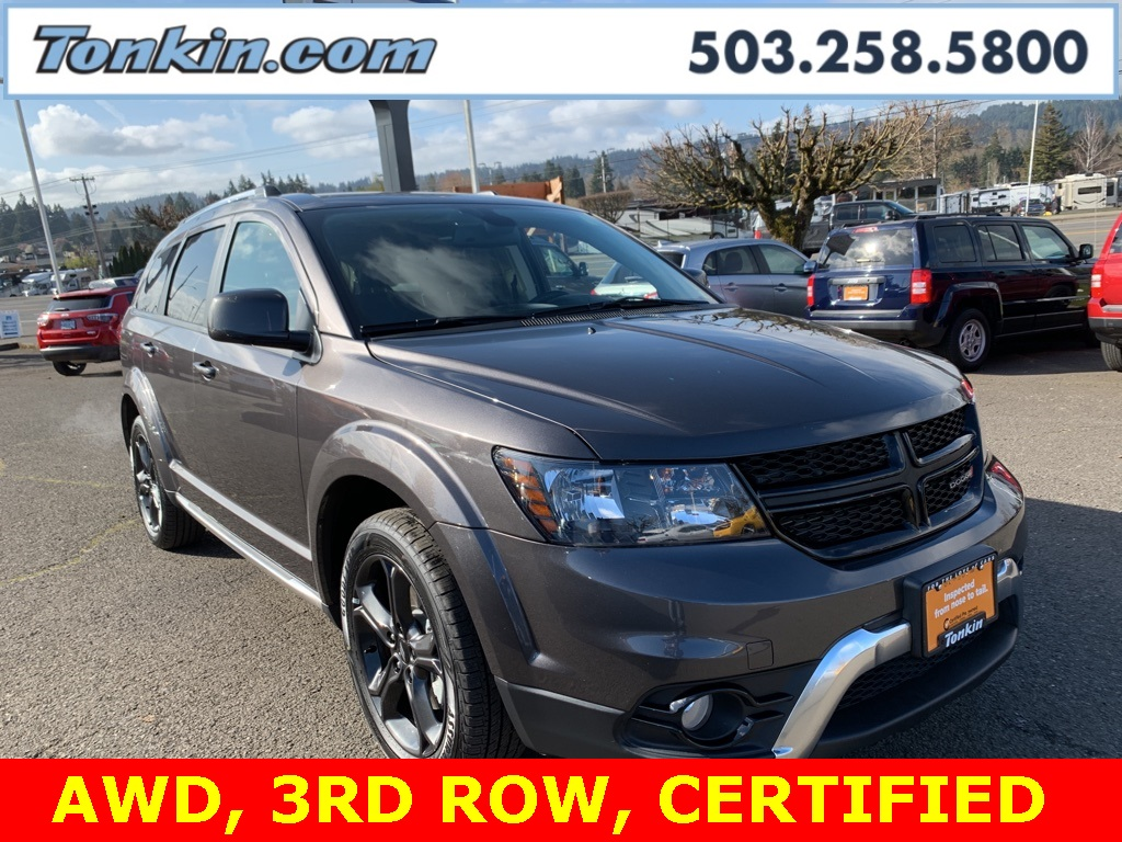 Certified Pre-Owned 2019 Dodge Journey Crossroad