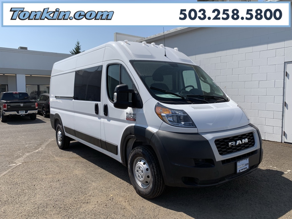 Dodge Ram Promaster >> New 2019 Ram Promaster 2500 Cargo Van High Roof 159 Wb
