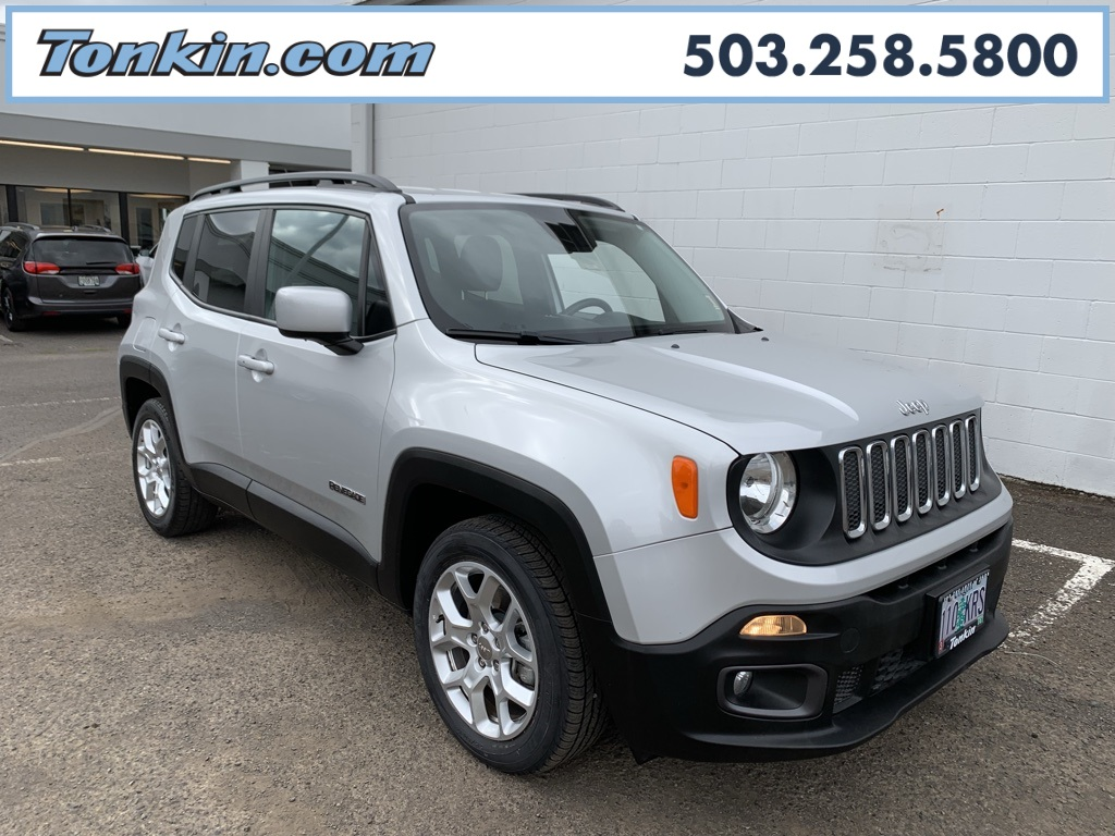 Jeep Certified Pre Owned >> Certified Pre Owned 2017 Jeep Renegade Latitude Fwd 4d Sport Utility